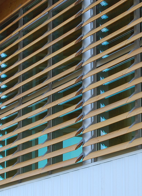 Naco Wood Louvers Sun Controlers